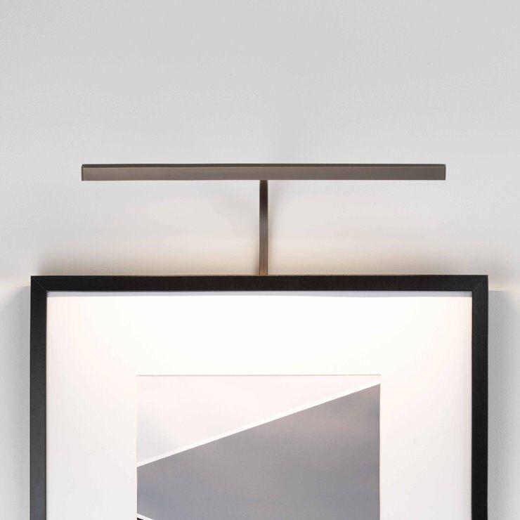 Astro Applique murale Astro MONDRIAN 400 FRAME MOUNTED LED-Applique LED pour tableau métal L40cm Doré