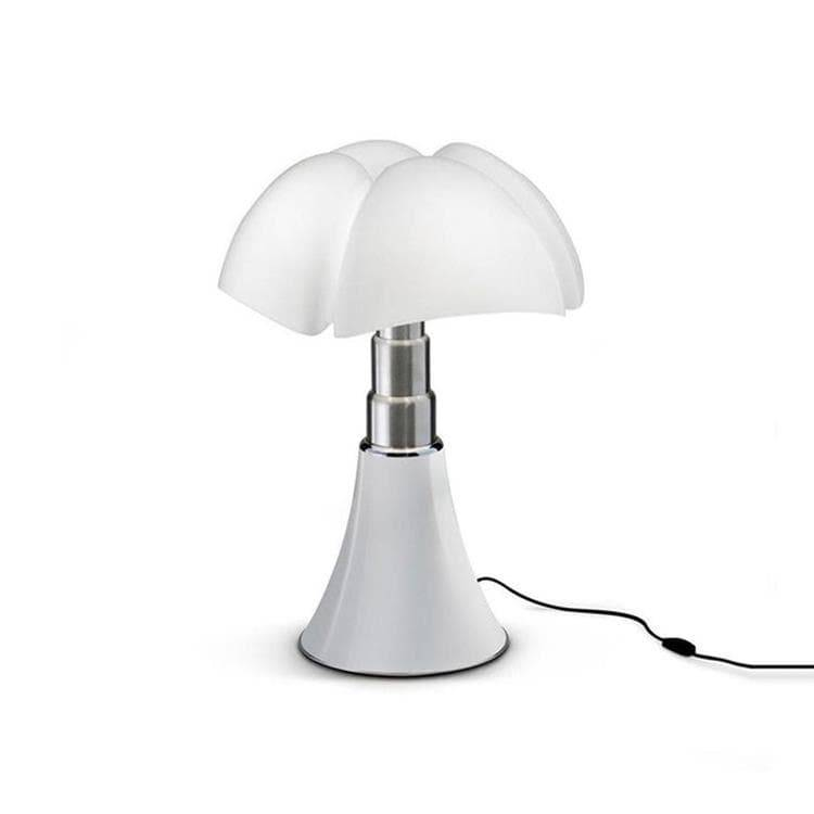 Martinelli Luce Lampe à poser Martinelli Luce MINI PIPISTRELLO-Lampe LED avec Variateur H35cm Blanc