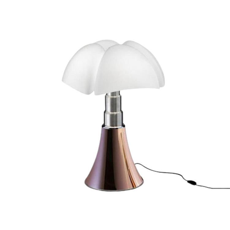 Martinelli Luce Lampe à poser Martinelli Luce MINI PIPISTRELLO-Lampe LED avec Variateur H35cm Cuivre