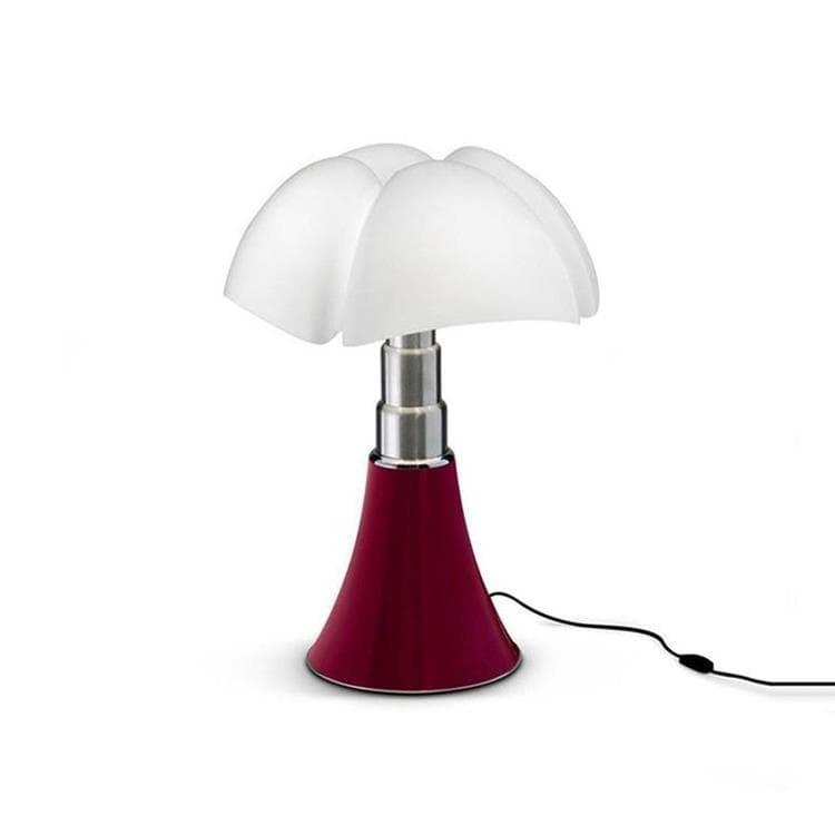Martinelli Luce Lampe à poser Martinelli Luce MINI PIPISTRELLO-Lampe LED avec Variateur H35cm Rouge