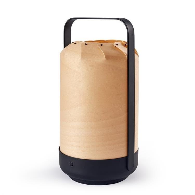 LZF Lampe à poser LZF MINI CHOU-Lampe à poser sans fil Bois/Métal H26cm Bois
