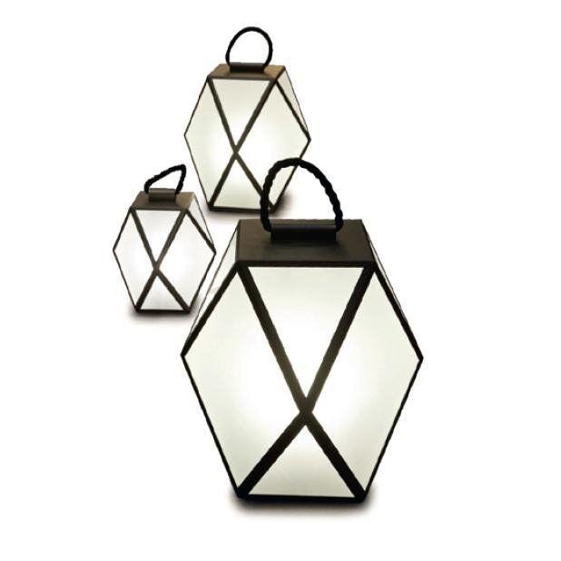 Contardi Lampes à poser d'extérieur Contardi MUSE-Lampe d'extérieur LED sans fil H40cm Noir