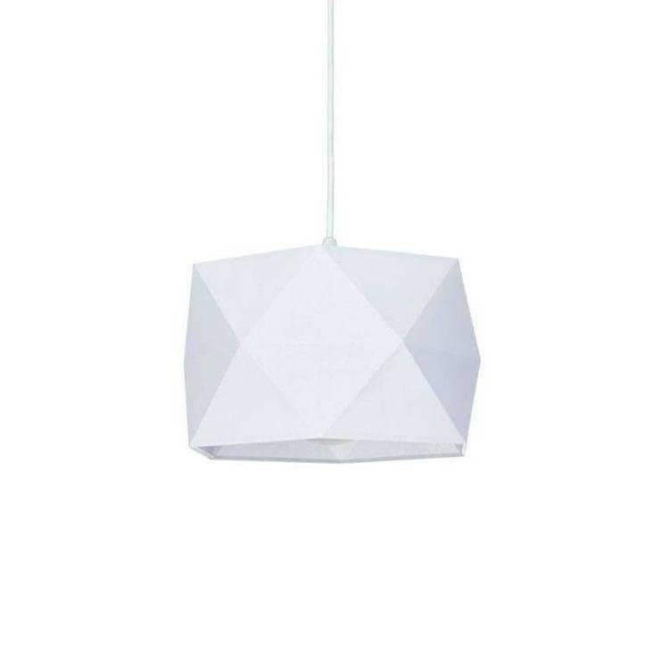 Corep Suspension Corep BULIGHT-Suspension de salle de bain Coton pliage Ø30cm Blanc