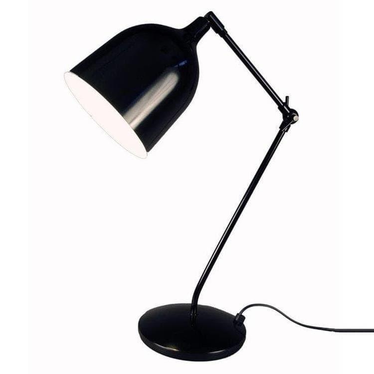 Aluminor Lampe à poser Aluminor MEKANO-Lampe de bureau Architecte H79cm Noir