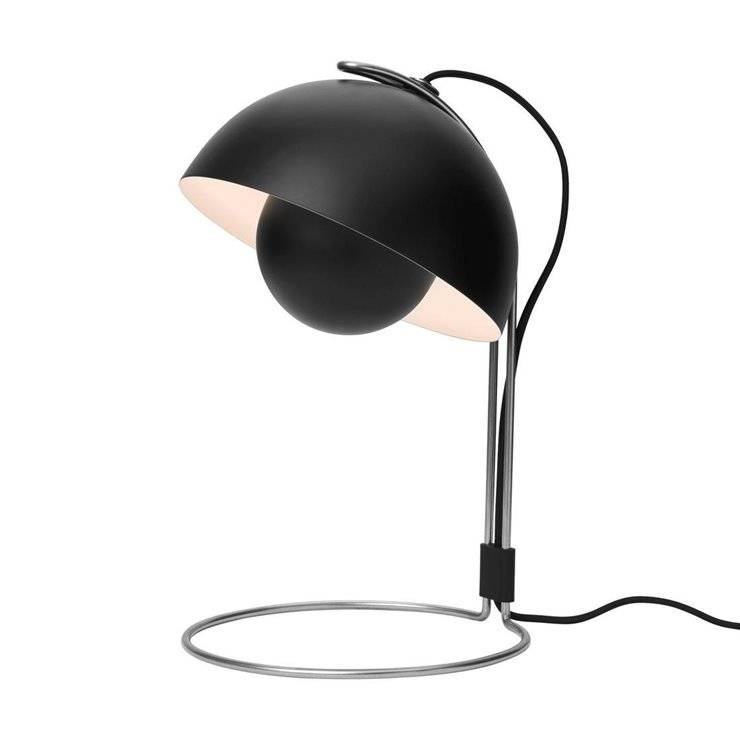 & Tradition Lampe à poser & Tradition FLOWERPOT VP4-Lampe de bureau H35cm Noir