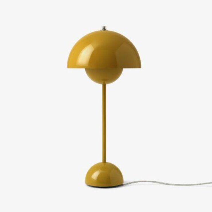 & Tradition Lampe à poser & Tradition FLOWERPOT VP3-Lampe de table H50cm Jaune