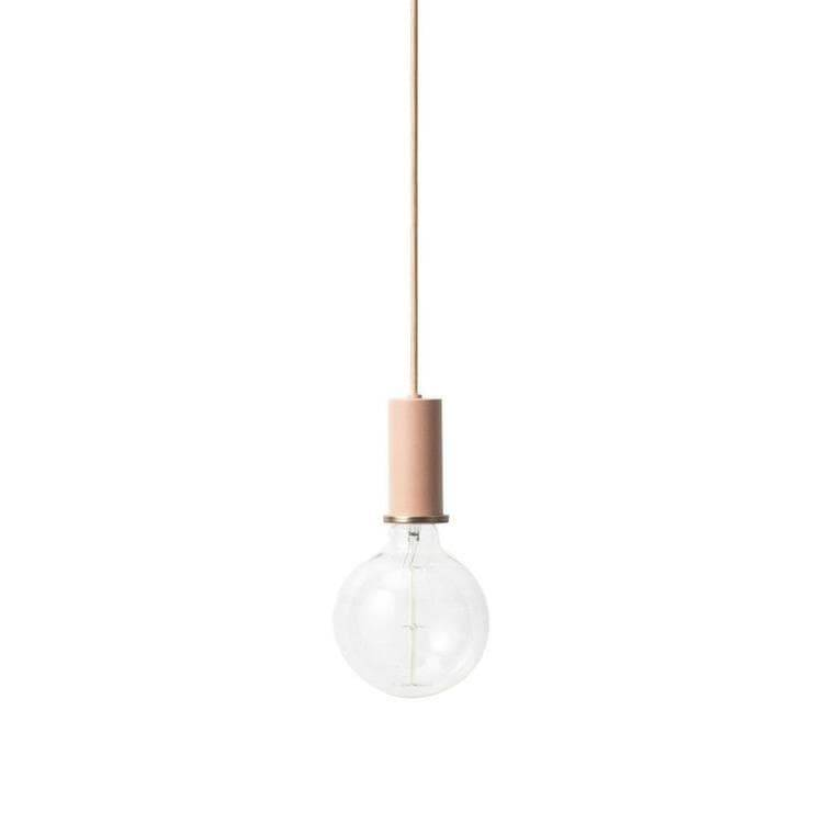 Ferm Living Suspensions et plafonniers Ferm Living COLLECT-Suspension H10,2cm Rose