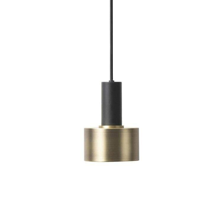 Ferm Living Suspensions et plafonniers Ferm Living COLLECT-Suspension Basse Disque Ø12cm Laiton