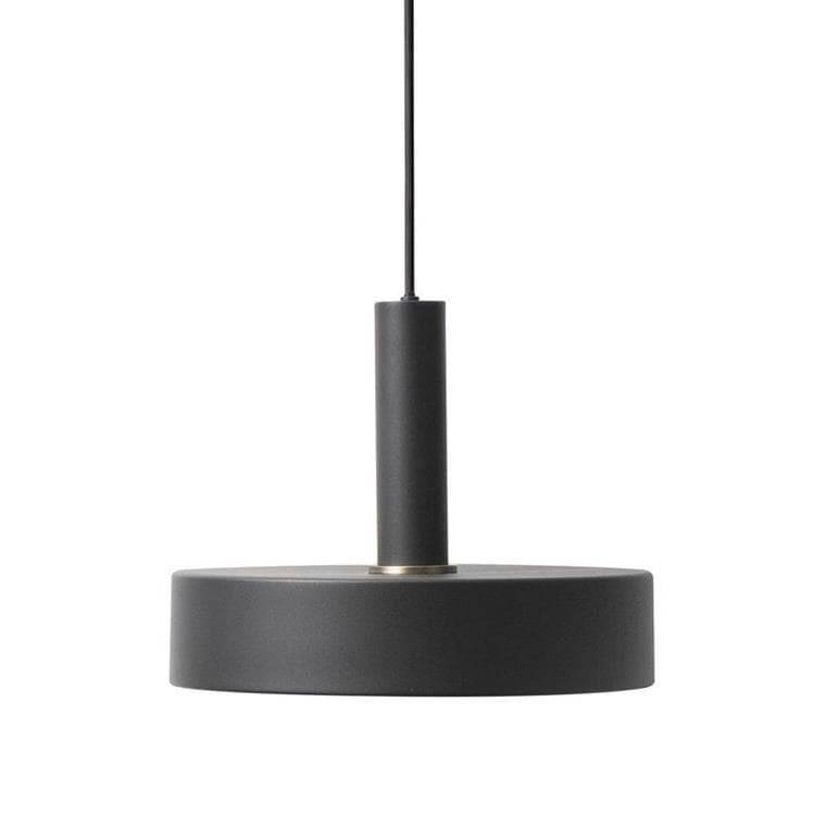 Ferm Living Suspensions et plafonniers Ferm Living COLLECT-Suspension Haute Disque Ø30cm Noir