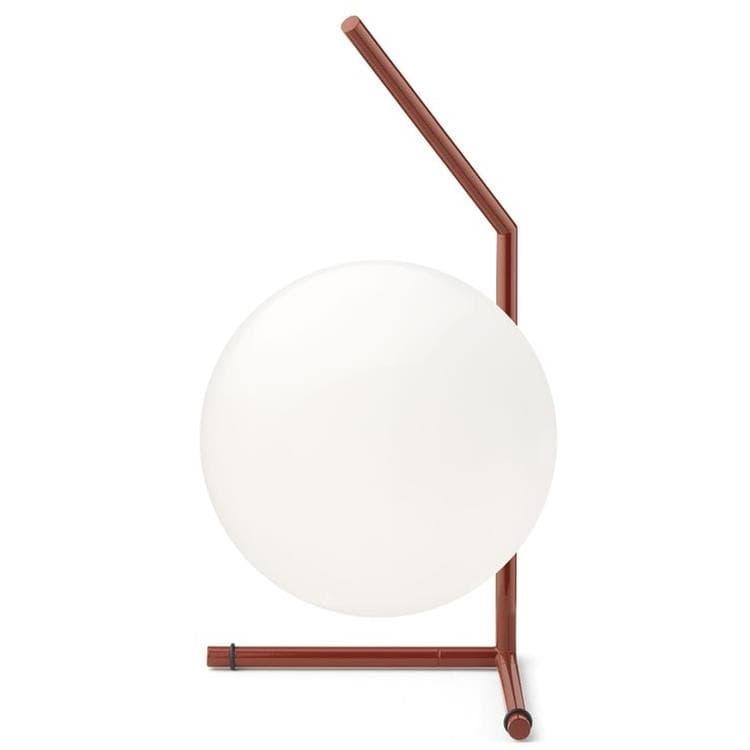 Flos Lampe à poser Flos IC T1-Lampe à poser Verre H38cm Rouge