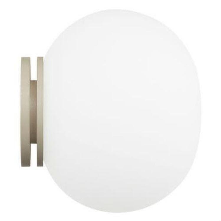 Flos Applique murale Flos MINI GLO-BALL-Applique de salle de bain Verre Ø11cm Blanc