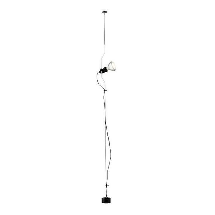 Flos Spot Flos PARENTESI-Spot sur câble vertical H180-400cm Blanc