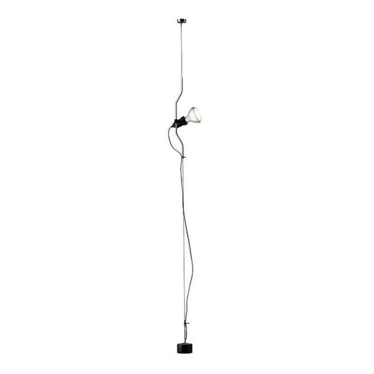 Flos Spot Flos PARENTESI-Spot sur câble vertical H180-400cm Argenté