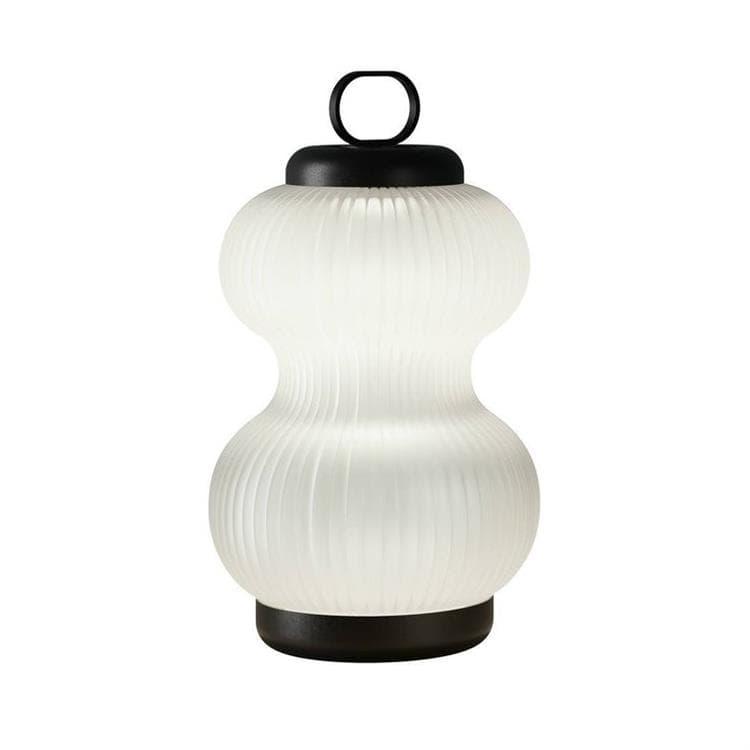 Fontana Arte Lampe à poser Fontana Arte KANJI-Lampe à poser LED Verre Ø31cm Blanc