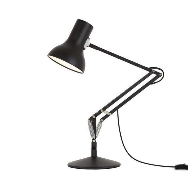 Anglepoise Lampe à poser Anglepoise TYPE 75 MINI-Lampe de bureau articulée H40-70cm Noir