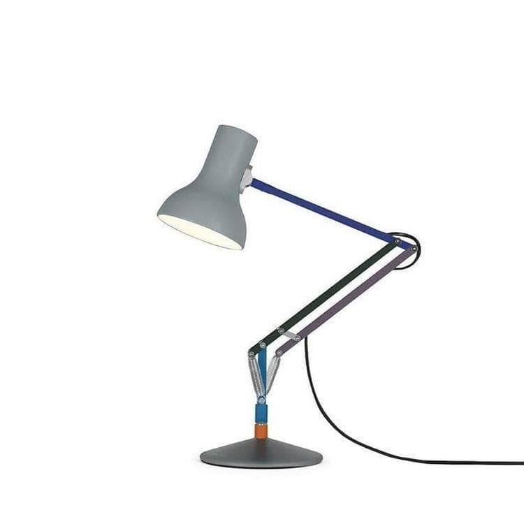 Anglepoise Lampe à poser Anglepoise TYPE 75 MINI-Lampe de bureau articulée Paul Smith Grise H40-70cm Multicolore