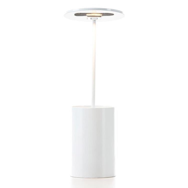 Formagenda Lampe à poser Formagenda E.T.-Lampe de bureau/Pot à crayons lumineux LED H26,7cm Blanc