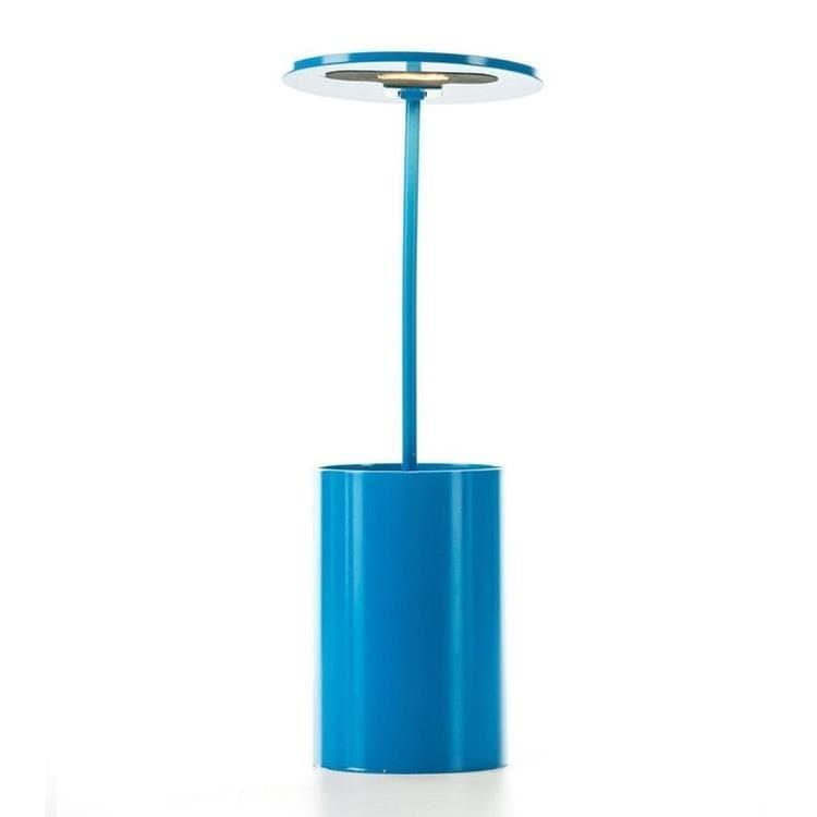 Formagenda Lampe à poser Formagenda E.T.-Lampe de bureau/Pot à crayons lumineux LED H26,7cm Bleu