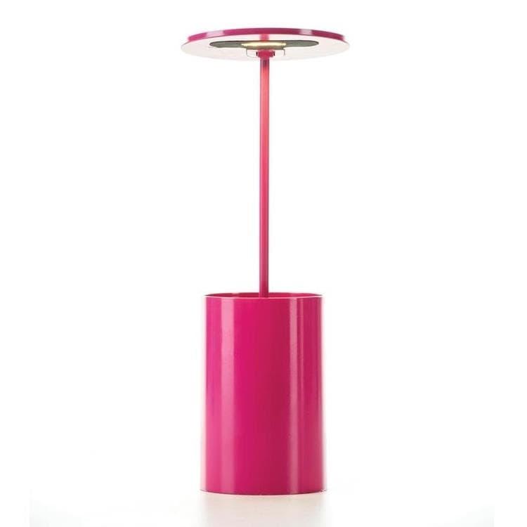 Formagenda Lampe à poser Formagenda E.T.-Lampe de bureau/Pot à crayons lumineux LED H26,7cm Rose