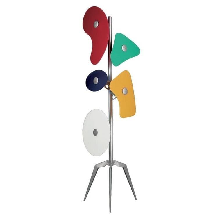 Foscarini Lampadaire Foscarini ORBITAL-Lampadaire Tripode Métal & Verre Satiné H170cm Multicolore
