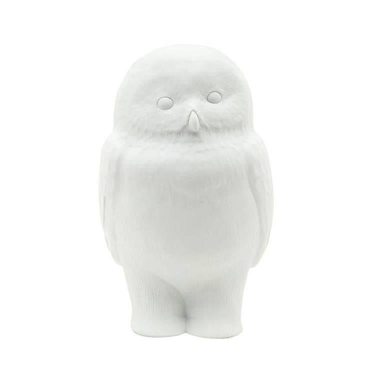 Goodnight Light Guirlandes et objets lumineux Goodnight Light AKIRA-Lampe/Veilleuse Hibou LED H23cm Blanc