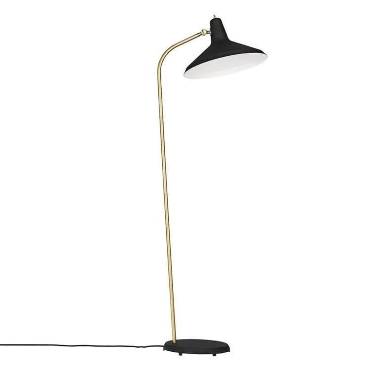 GUBI Lampadaire GUBI G10-Lampe de lecture H140cm Noir