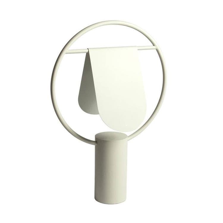 Hartô Lampe à poser Hartô ANAE-Lampe à poser Métal H52cm Beige