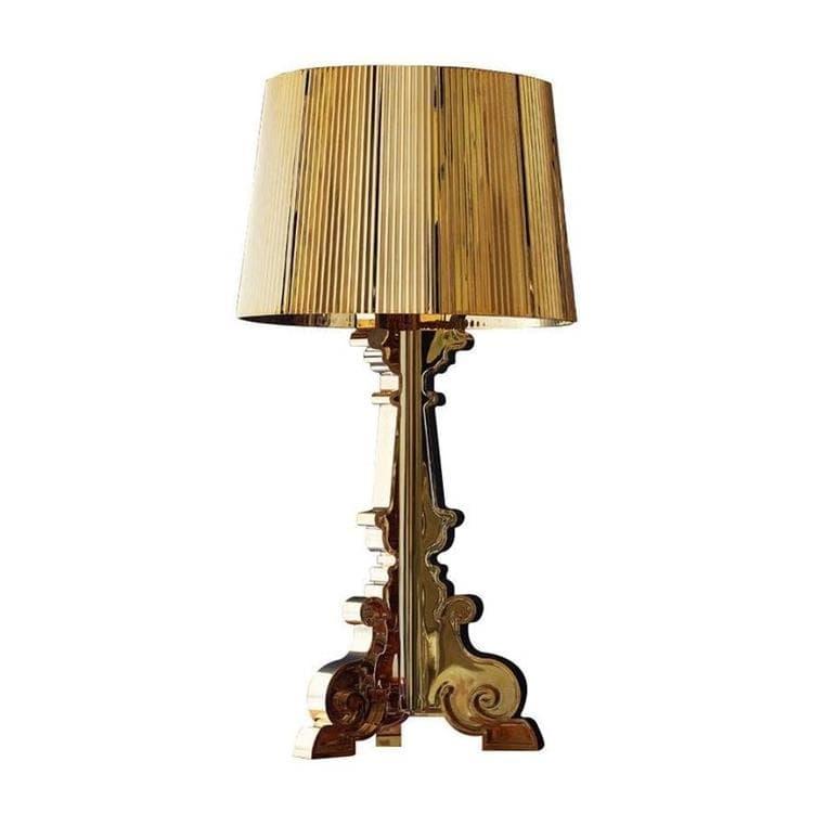 Kartell Lampe à poser Kartell BOURGIE-Lampe à poser H68-78cm Doré