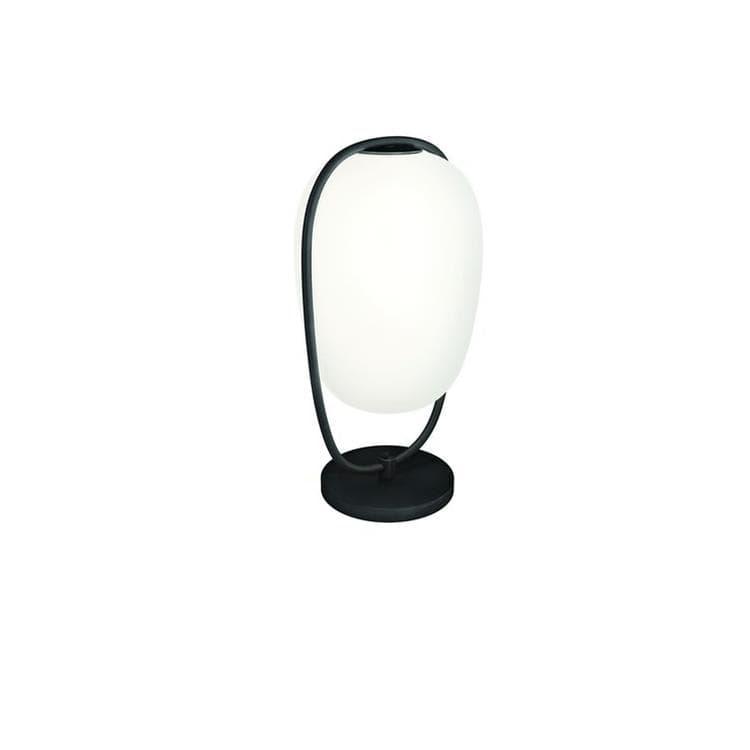 Kundalini Lampe à poser Kundalini LANNA-Lampe à poser Verre/Métal H40cm Noir