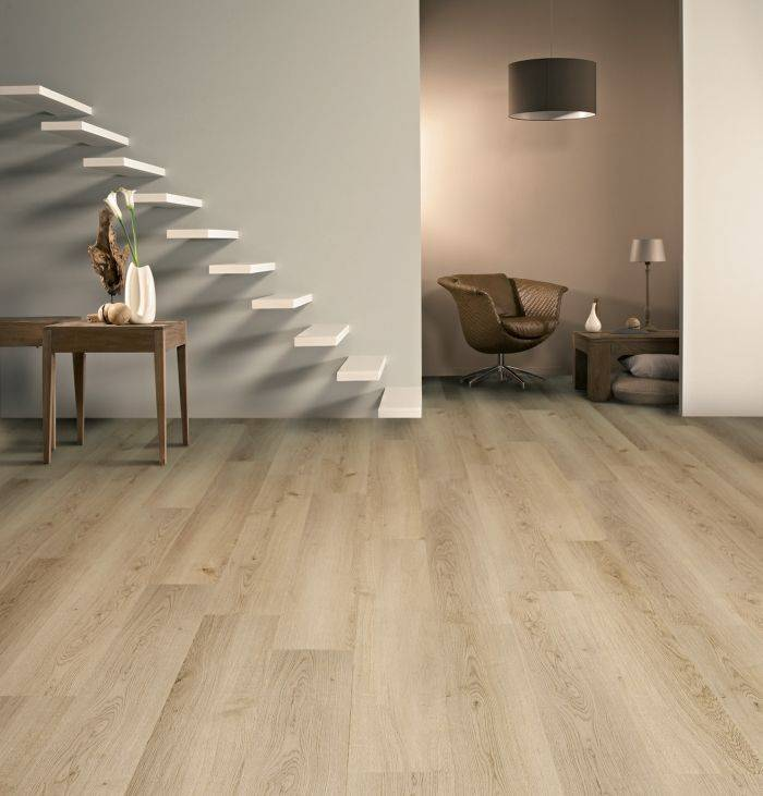 BALTERIO Parquet stratifié clipsable DOLCE 7 mm - Chêne Continental 747