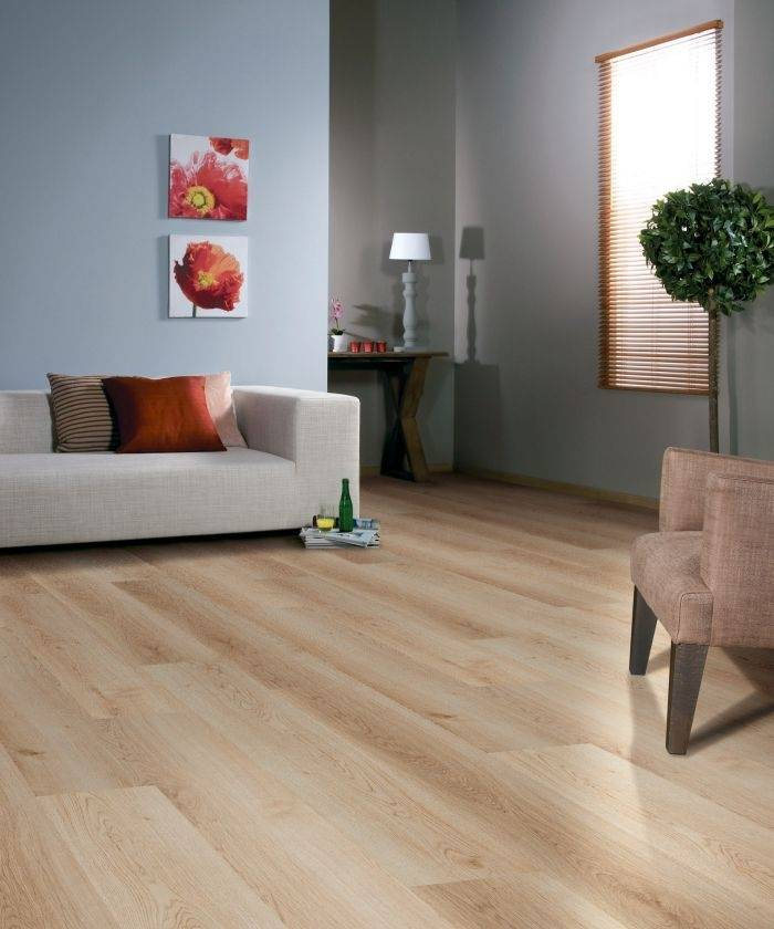 BALTERIO Parquet stratifié clipsable DOLCE 7 mm - Chêne Burlington 748