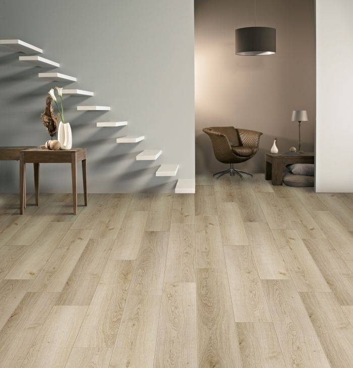BALTERIO Parquet stratifié clipsable DOLCE VITA 7 mm - Chêne Continental 747
