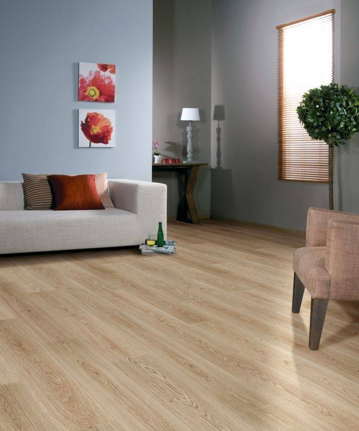 BALTERIO Parquet stratifié clipsable DOLCE VITA 7 mm - Chêne Burlington 748