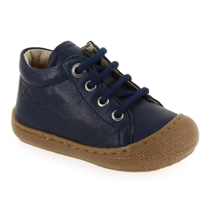 Falcotto by Naturino Promo -10€ Bottines Falcotto by Naturino COCOON bleu pour Bébé fille taille : 18, 19, 20, 21, 22, 23, 24