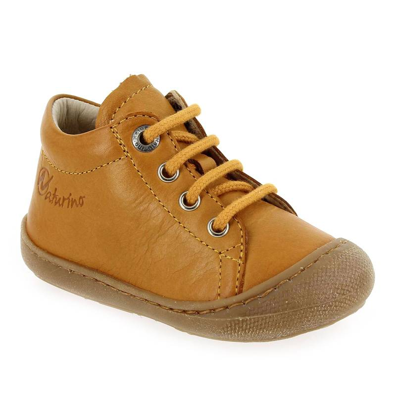 Falcotto by Naturino Bottines Falcotto by Naturino COCOON jaune pour Bébé fille taille : 18, 19, 20, 21, 22