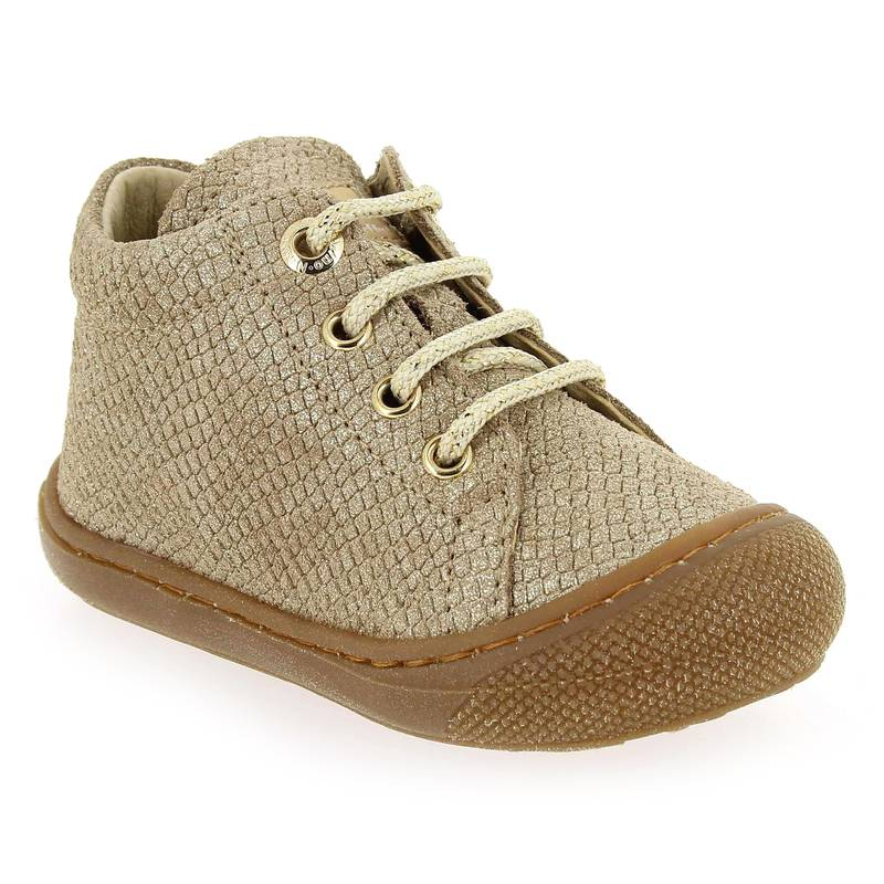 Falcotto by Naturino Promo -10€ Bottines Falcotto by Naturino COCOON Doré pour Bébé fille taille : 18, 24