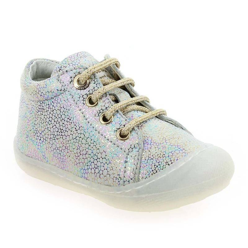 Falcotto by Naturino Bottines Falcotto by Naturino COCOON SS20 argent pour Bébé fille taille : 19, 22, 23