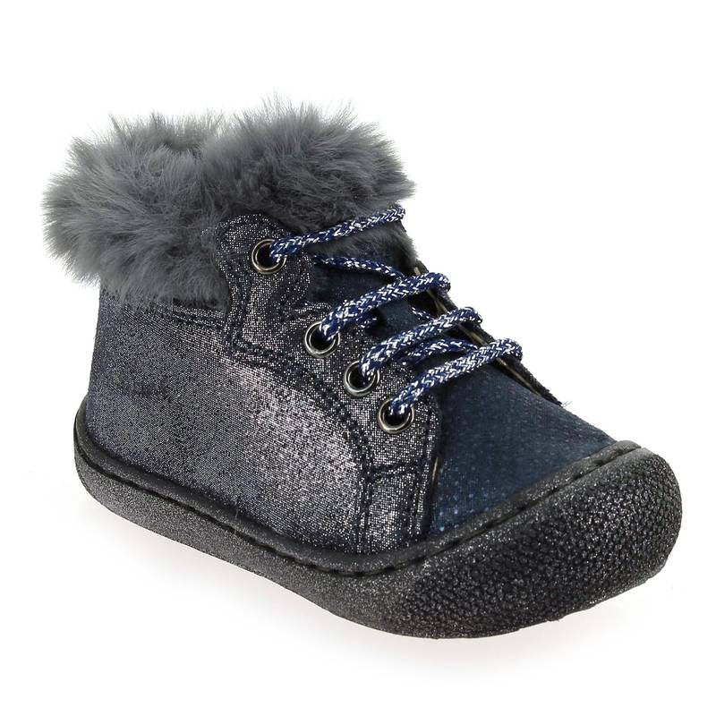 Falcotto by Naturino Promo -10€ Bottines Falcotto by Naturino BARKS bleu pour Bébé fille taille : 18, 19