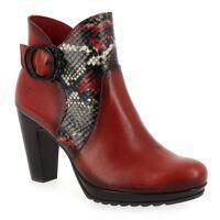 Jose Saenz Promo - Jose Saenz 7169 Rouge pour Femme en Cuir - Cuir - 37,36,38 <br /><b>145.00 EUR</b> JEF Chaussures