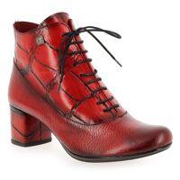 Jose Saenz Promo - Jose Saenz 4277 Rouge pour Femme en Cuir - Cuir - 37,36,38,39,40 <br /><b>135.00 EUR</b> JEF Chaussures