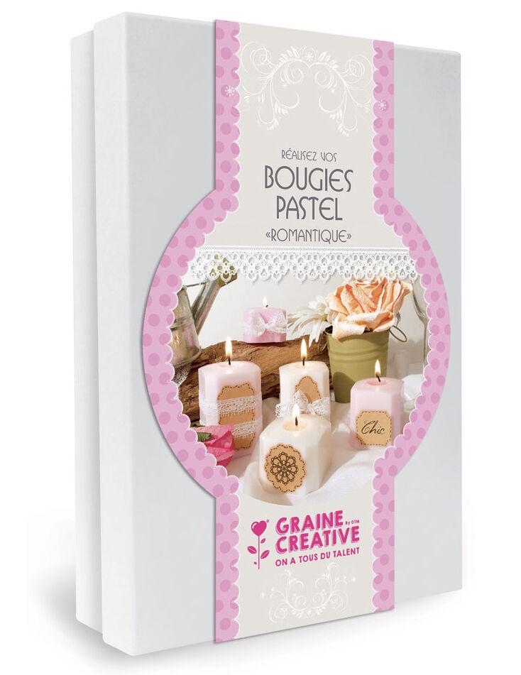 VegaooParty Kit création de bougies romantiques pastel 19,5 x 27,5 cm