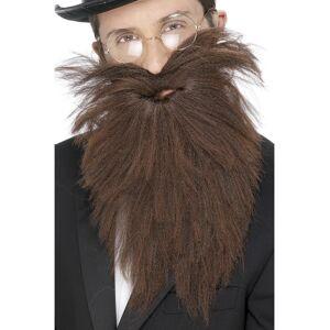 VegaooParty Barbe longue marron adulte - Publicité