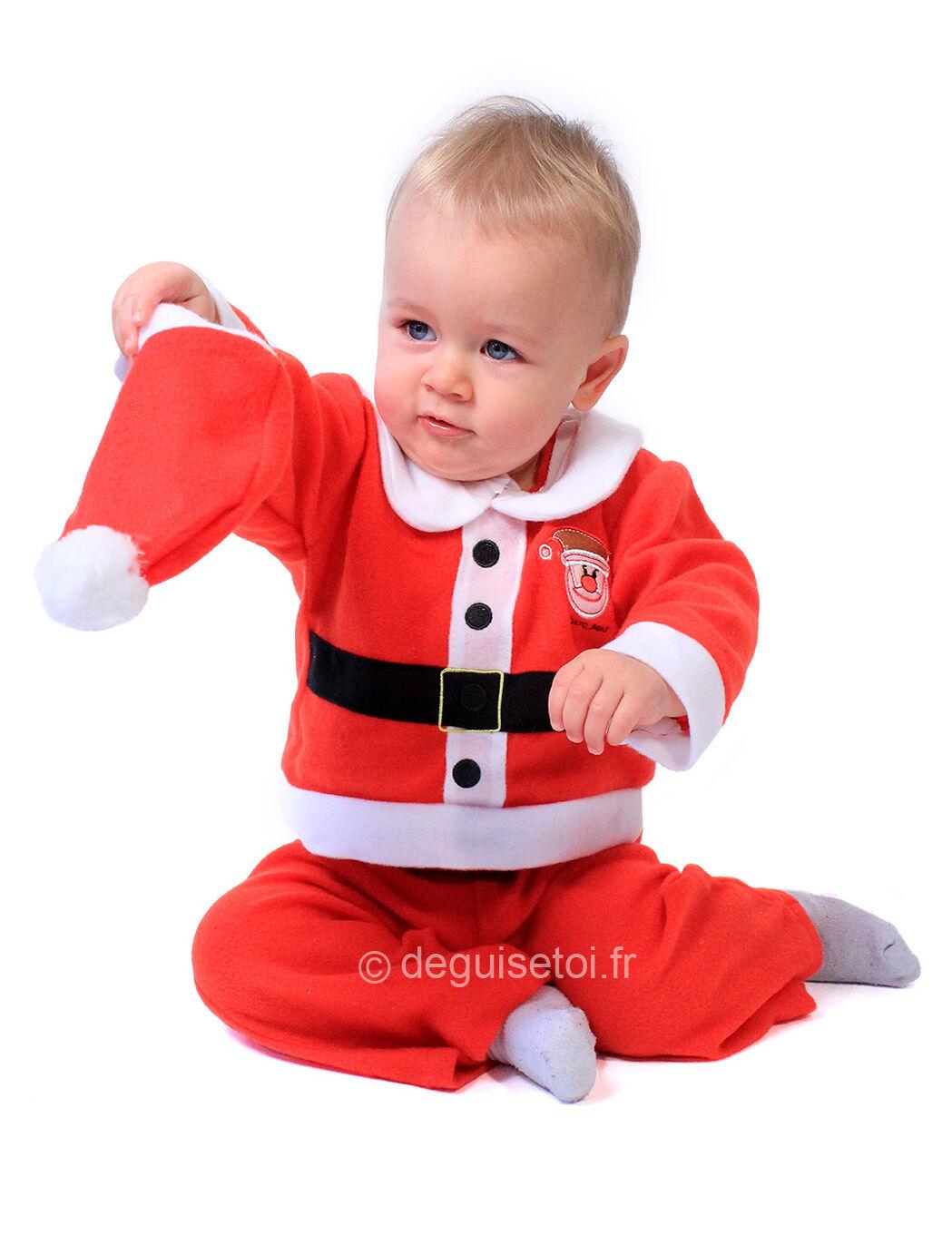 VegaooParty Déguisement Père Noël complet bébé - Taille: 12 mois