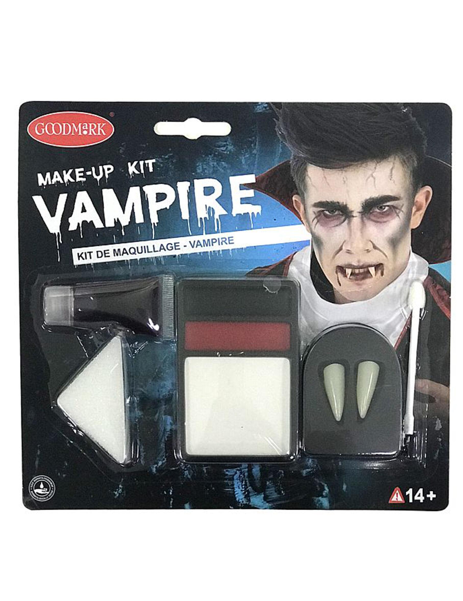 VegaooParty Kit maquillage complet vampire adulte halloween