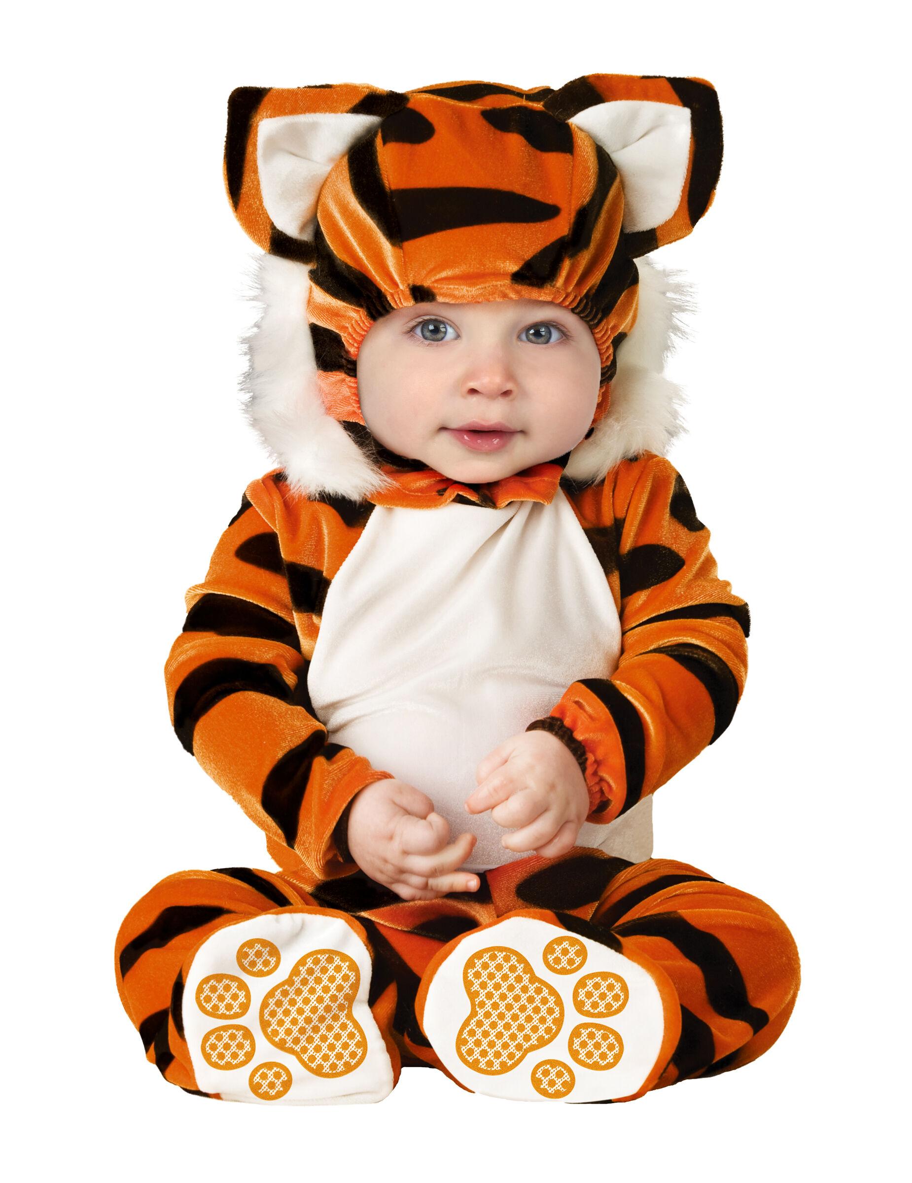 VegaooParty Déguisement Tigre pour bébé - Premium - Taille: 18-24 mois (84-89 cm)