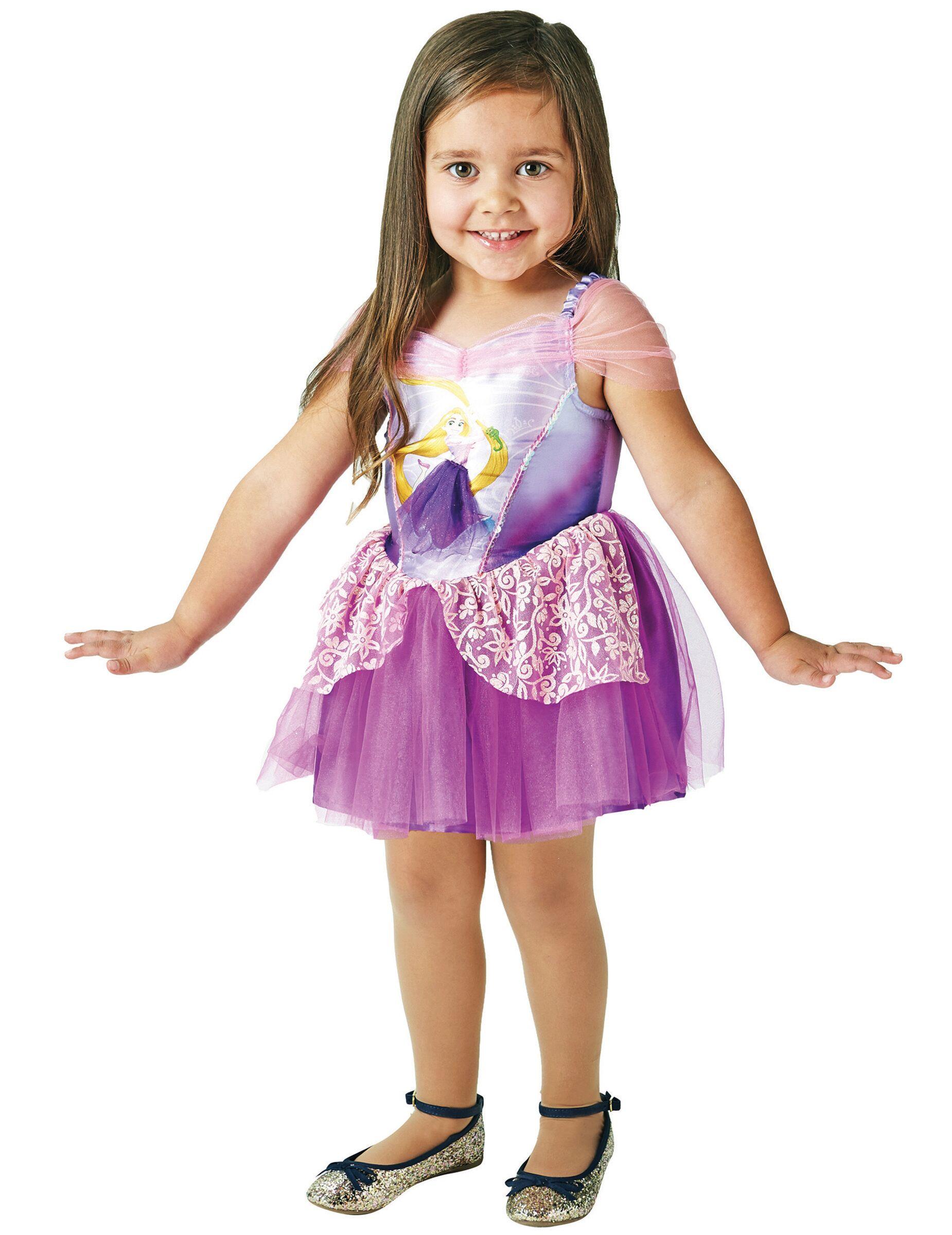 VegaooParty Déguisement Princesse Ballerine Raiponce fille - Taille: 3 à 4 ans (90 à 104 cm)