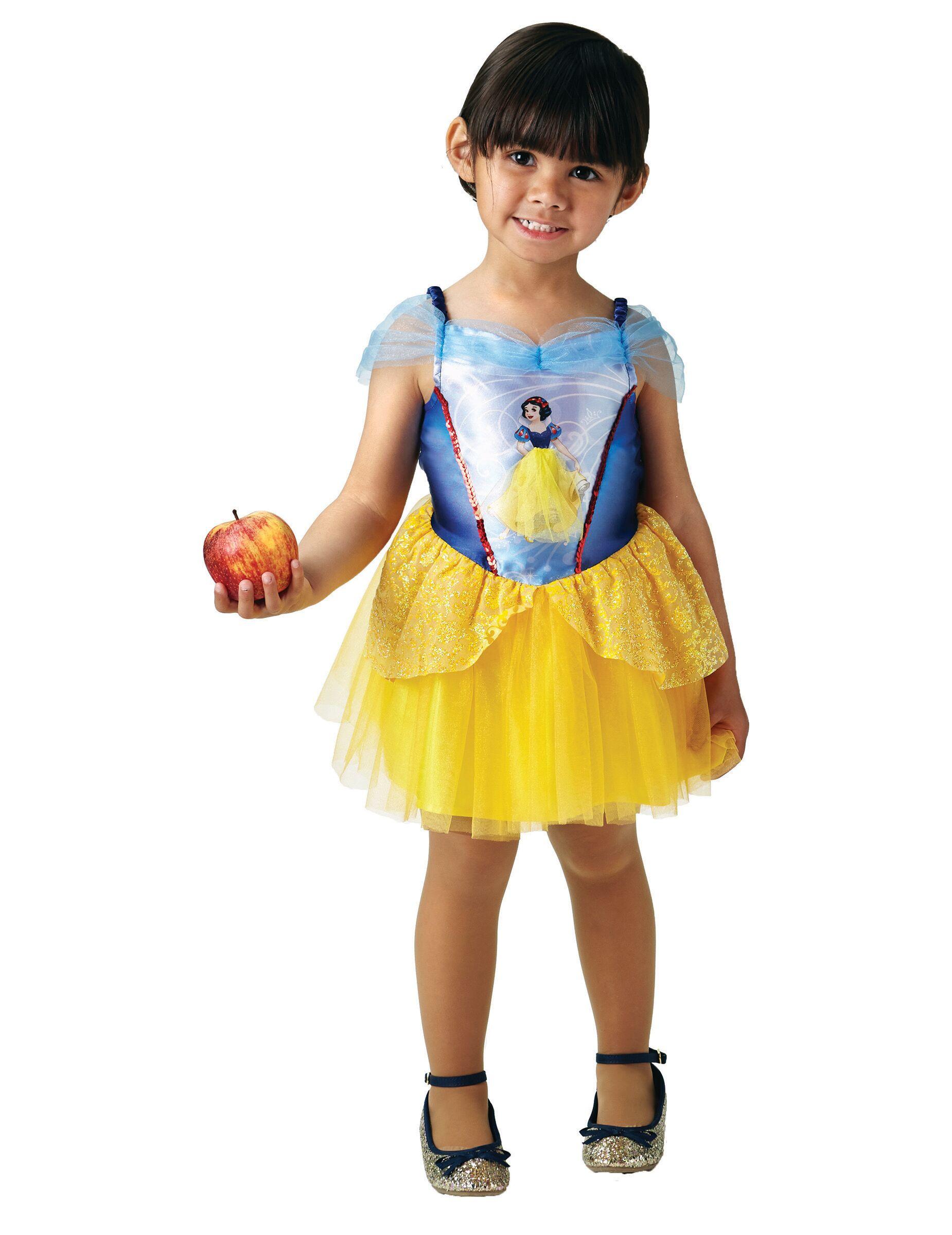 VegaooParty Déguisement Princesse Ballerine Blanche Neige fille - Taille: 3 à 4 ans (90 à 104 cm)