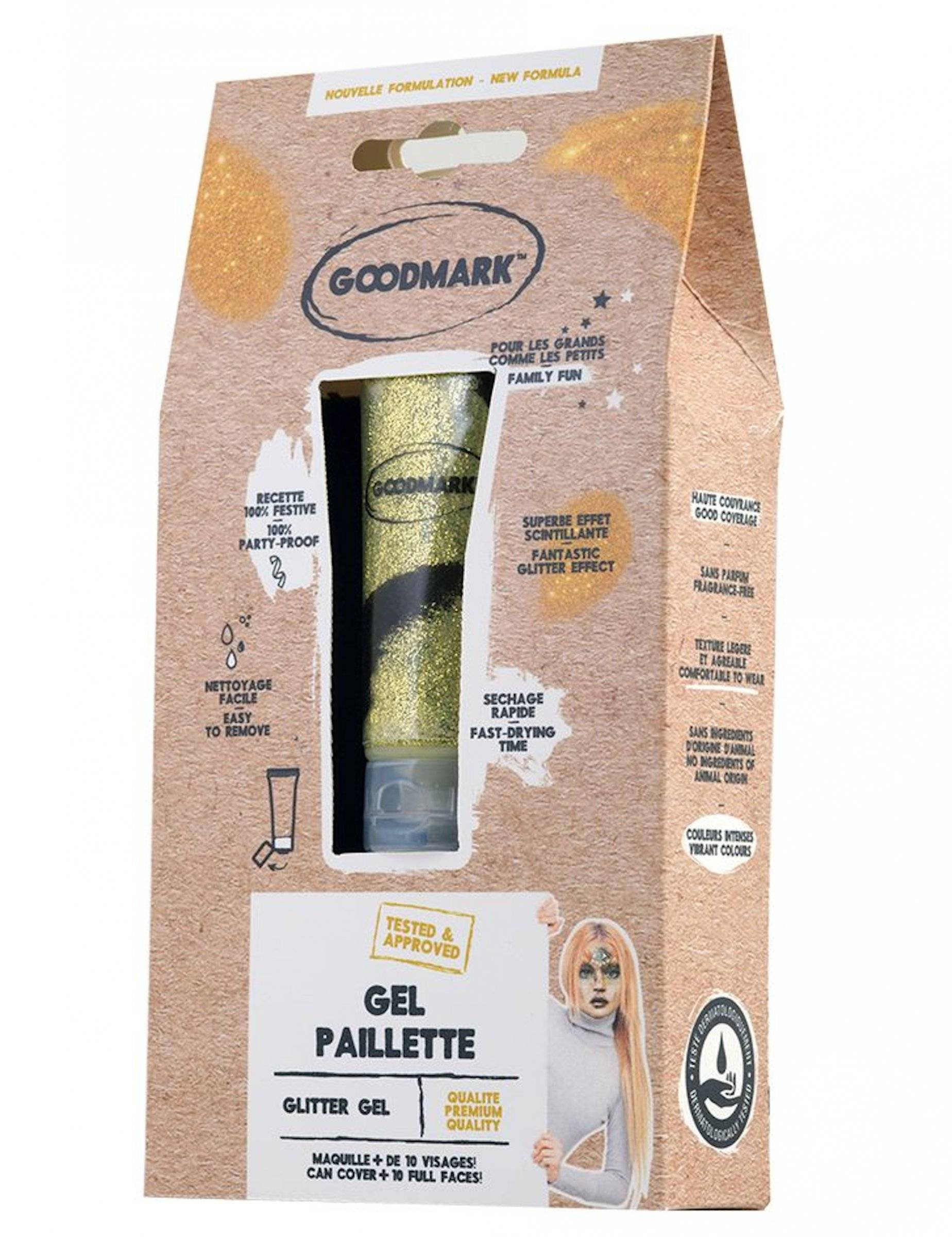 VegaooParty Gel pailleté 28 ml - Doré