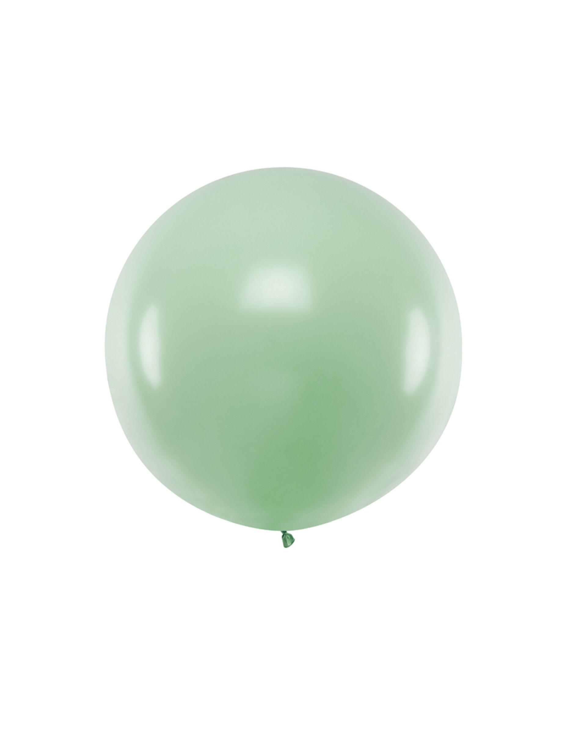 VegaooParty Ballon en latex géant pistache 1 m