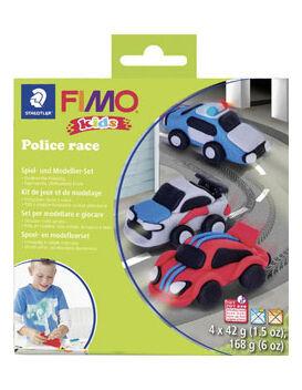 VegaooParty Kit pâte FIMO Course de police
